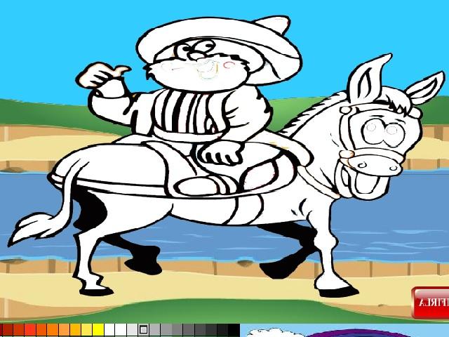 Nasreddin Hoca boyama oyunu ile keyifli bir eğlence sizi bekliyor. Sayfamızda Nasreddin Hocayı boyama oyunu oynayabilirsiniz.