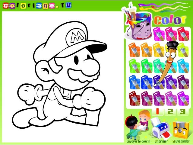 Mario boyama oyunu ile keyifli bir eğlence sizi bekliyor. Sayfamızda Mario boyama oyunu oynayabilirsiniz.