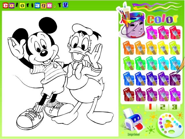 Walt Disney kahramanları boyama oyunu ile keyifli bir eğlence sizi bekliyor. Sayfamızda Walt Disney boyama oyunu oynayabilirsiniz.