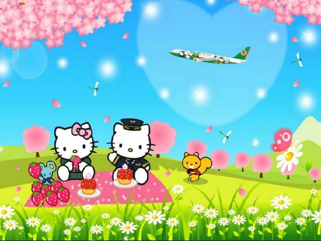 Hello Kitty yapbozu ile keyifli bir eğlence sizi bekliyor. Sayfamızda Hello Kittyyapboz oyunu oynayabilirsiniz. 12, 24, 48, 64, 81 ve 100 parça Hello Kitty yapboz oyunları