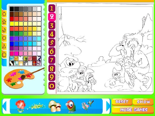 Şirinler boyama oyunu ile keyifli bir eğlence sizi bekliyor. Sayfamızda Şirinler boyama oyunu oynayabilirsiniz. Yeni Şirinler boyama oyunları