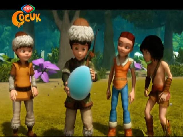 Dede Korkut Tepegöz'ün doğuşuçizgi filmi animasyon film olarak Trt Çocuk kanalı için hazırlanmıştır. Tepegöz'ün doğuşu masalı çizgi filmi sayfamızda