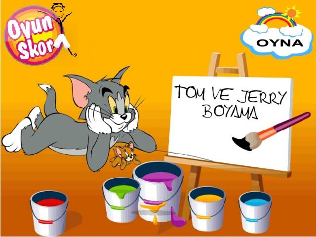 Tom ve Jerryboyama oyunuile keyifli bir eğlence sizi bekliyor. Sayfamızda Tom ve Jerry boyama oyunu oynayabilirsiniz. Tom ve Jerry boyama oyunları