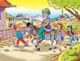 Nasreddin Hoca ve çocuklar yapbozu ile keyifli eğlence sizi bekliyor. Sitemizde Nasreddin Hoca ve çocuklar yapboz oyunu oynayın. Yeni Nasreddin Hoca yapbozları