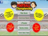 Kafa topu oyna. Sayfamızda kafa topu oyunu oynayın. En yeni futbol oyunları ve kafa topu oyunları sitemizde oynanır.