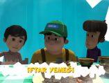 """Ramazan Tayfa çizgi filmi 11 bölüm izle. Ramazan Tayfa'nın 11. bölümü """"İftar yemeği"""" çizgi filmini izlemek isteyenler için sitemizde paylaşıldı."""