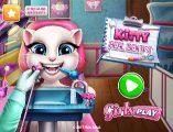 Cepte ve tablette Kitty Real Dentist oyunu oynayın. Kitty diş tedavisi oyunu html5 tabanlı bir oyundur. Cep telefonunda ve tablette oyun oyna
