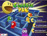 Mobil classic Pac oyunu oyna! Cepte ve tablette mobil oyun oynamak isterseniz, Klasik pacman sarı nokta yeme oyununu oynayın.