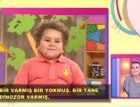 Sevilen çocuk programı; Çocuktan al haberi'nin eğlenceli konuğu sevimli Efecan'ın eğlenceli masal anlattığı videosu izlemeniz için sayfamızda paylaşıldı.